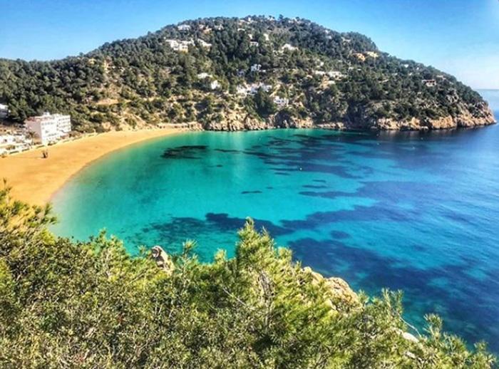 Cala San Vicente, en Ibiza