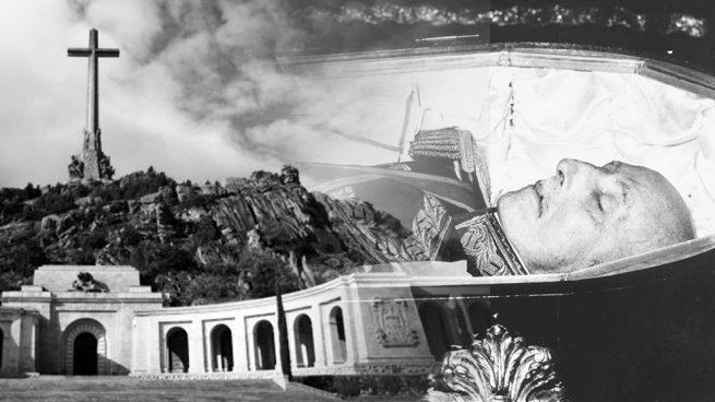 Francisco Franco en su lecho de muerte