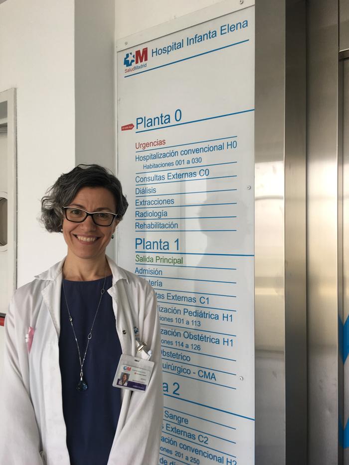 La doctora Inés Gonzalo González
