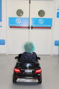 Los niños llegan a quirófano tranquilos y animados