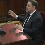 Oriol Junqueras ante el Tribunal Supremo