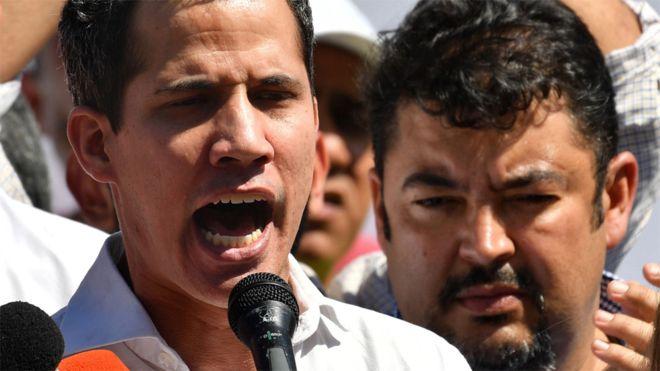 """Juan Guaidó: """"Nicolás Maduro no se atreve a encarcelarme"""""""