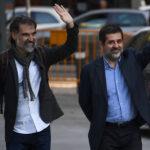 """Este lunes es una día clave para los """"Jordis"""" en el juicio del """"procés"""""""