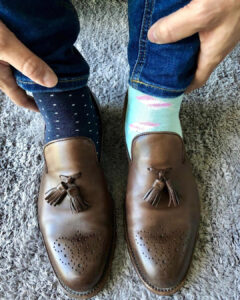 Los calcetines desparejados de Albert Rivera