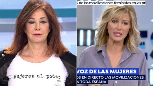 Ana Rosa Quintana y Susanna Griso