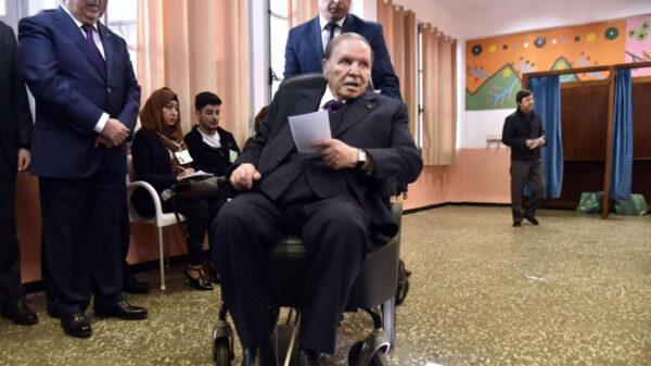 El presidente de Argelia, Abdelaziz Bouteflika