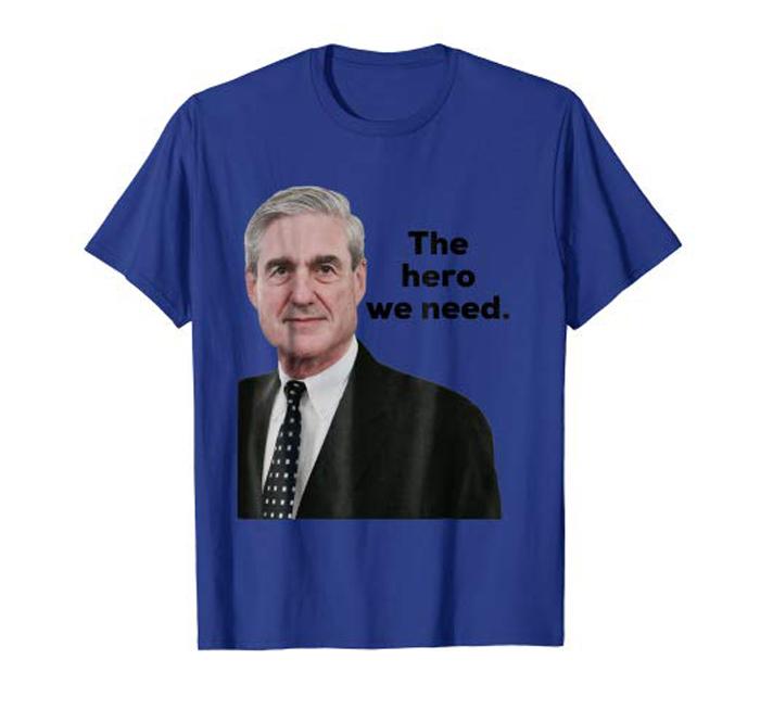 Camiseta con la cara de Robert Mueller