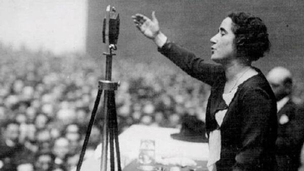 La política española Clara Campoamor