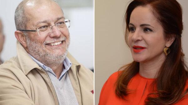 Francisco Igea y Silvia Clemente