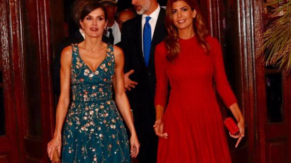 La Reina Letizia y Juliana Awada