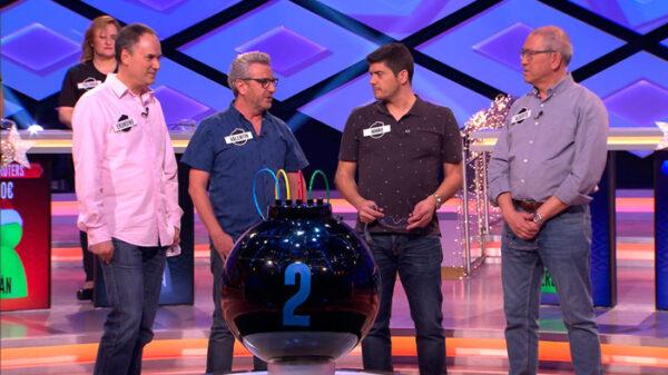 Erundino, Valentín, Manu y Alberto, componentes de 'Los Lobos' de '¡Boom!'