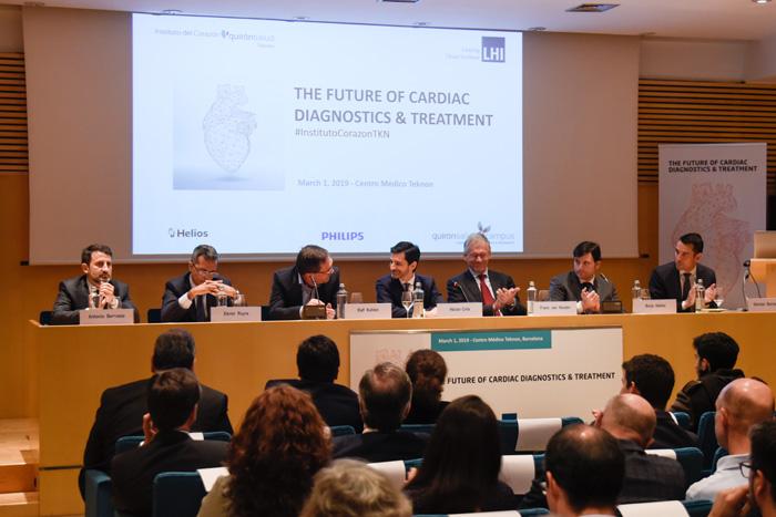 Mesa inaugural de la Jornada Internacional en Patología Cardiovascular