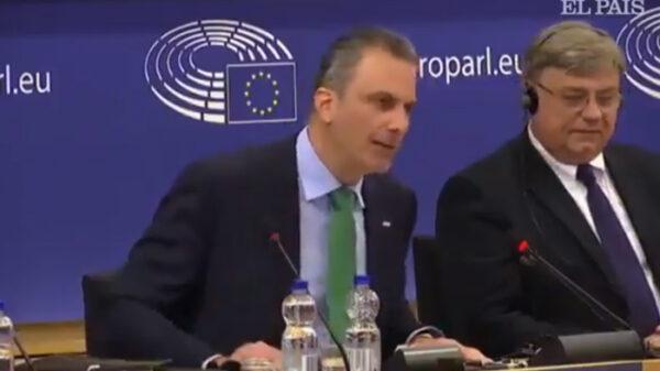 Ortega Smith (Vox) en Bruselas