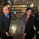 Italia devuelve a México casi 600 pinturas robadas