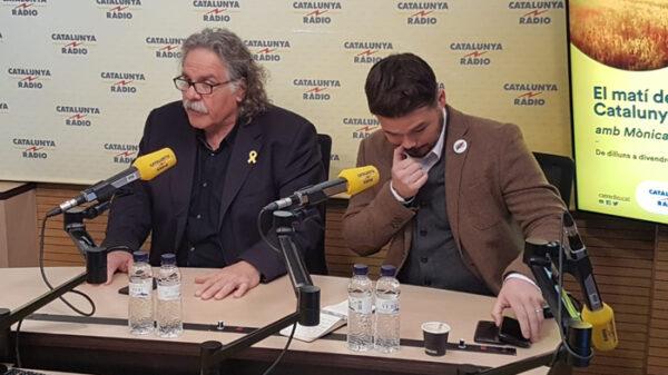 Joan Tardá y Gabriel Rufián