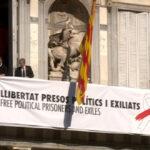 La nueva pancarta de la Generalitat