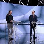 Casado, Iglesias, Sánchez y Rivera en el debate de Atresmedia