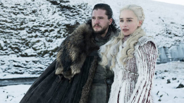 'Jon Snow' y 'Daenerys Targaryen', dos personajes principales de 'Juego de Tronos'