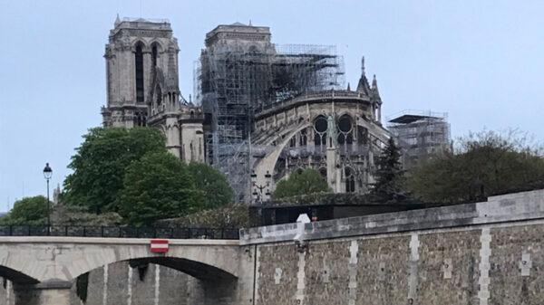 La catedral de Notre Dame tras el incendio