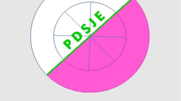 Logo del Partido Demócrata Social de Jubilados Europeos (PDSJE)