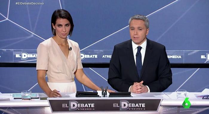 Ana Pastor y Vicente Vallés
