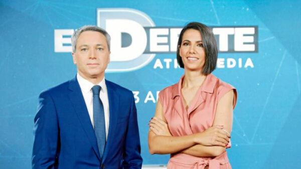 Ana Pastor y Vicente Vallés, presentadores de Atresmedia