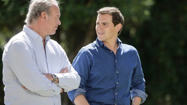 Albert Rivera con Bertín Osborne