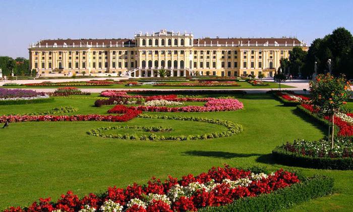El Palacio Schönbrunn en Viena