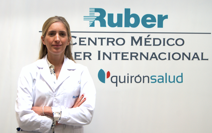 La doctora Ana Alegría