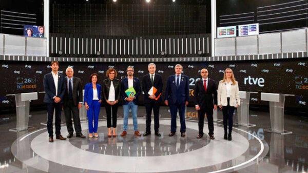 Los candidatos europeos en TVE