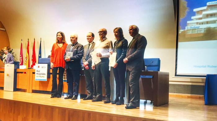 Bárbara Fernández, Dr. Jesús Escobar, Dr. Juan Martínez, Jesús Pinheiro, Dra. Celia García Menéndez y Dr. Antonio Alemany