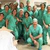 Foto de grupo en la Primera Semana Multidisciplinar de Seguridad del Paciente