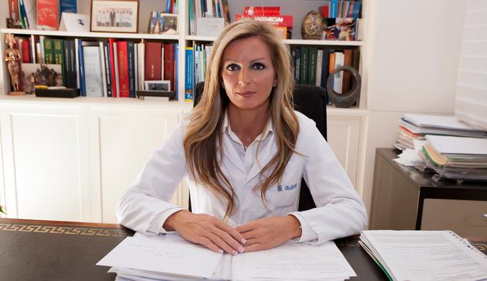 La doctora Inmaculada Gómez Arrayás