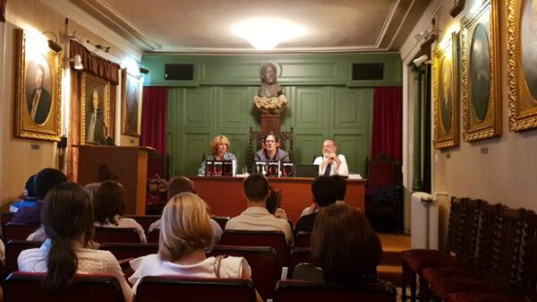 Guillermo Pérez-Tomé en la presentación de la tercera parte de 'Domus'