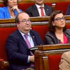 Miquel Iceta en el Parlamento catalán