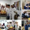 Todos los departamentos y servicios del hospital se implicaron en la celebración del Día de la Fruta