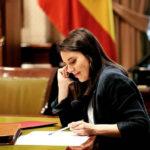 Irene Montero, que ha llevado la negociación por parte de Podemos