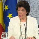 La ministra y portavoz del Gobierno, Isabel Celaá