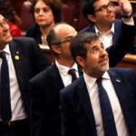 Jordi Sánchez, Jordi Turull y Josep Rull