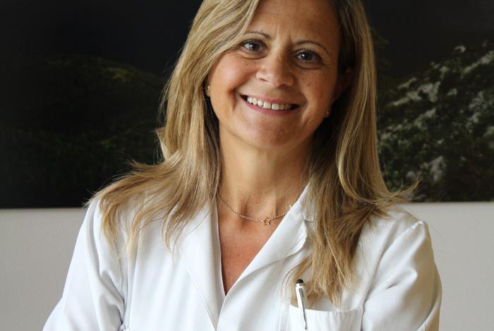 La doctora Mercedes Andeyro