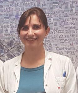 La doctora Mercedes García Salmones