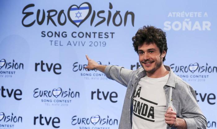 Miki, representante de España en Eurovisión
