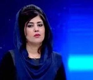 La periodista afgana Mira Mangal