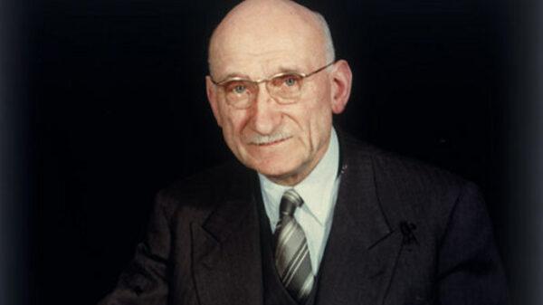 Robert Schuman, considerado el padre de Europa