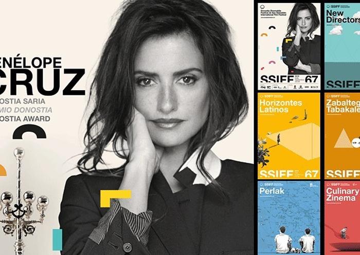 Penélope Cruz, protagonista del cartel del festival de San Sebastián