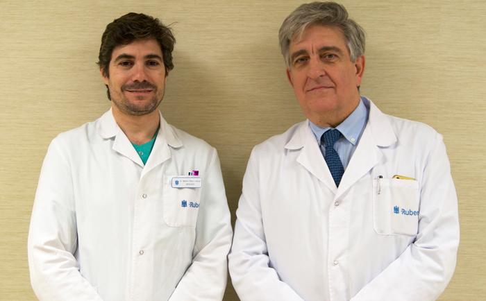 Los doctores Pérez-Lanzac y Allona