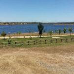 El pantano de Cheles, en Badajoz