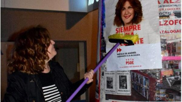 La candidata socialista de Alcorcón