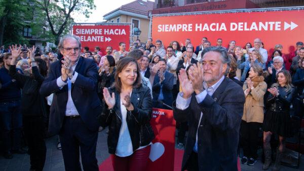 Los candidatos del PSOE en Madrid inician la campaña electoral