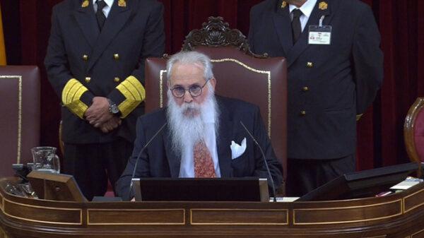 El diputado Agustín Zamarrón